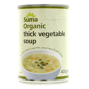 Thick Vegetable Soup Organic
