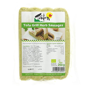 Tofu Herb Sausages