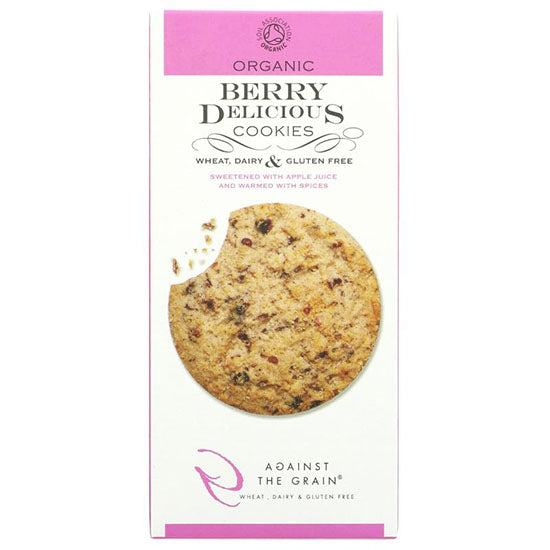 Berry Delicious Gluten free Cookies Organic