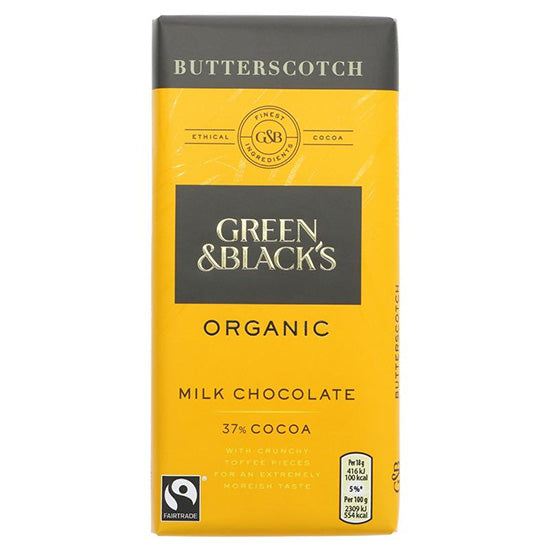 Milk Chocolate Butterscotch Organic
