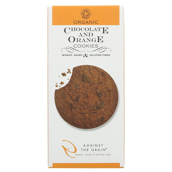 Chocolate & Orange Gluten free Cookies Organic