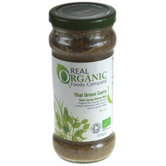 Thai Green Curry Sauce Organic