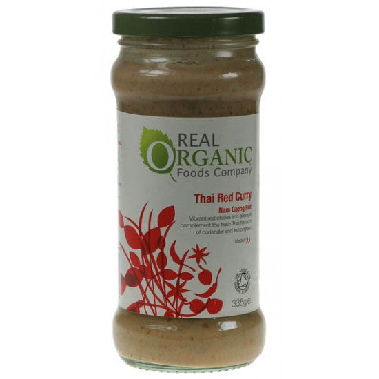 Thai Red Curry Sauce Organic