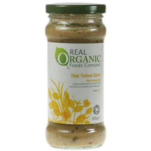 Thai Yellow Curry Sauce Organic
