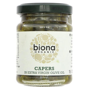 Organic Capers in Extra Virgin Olive Oil