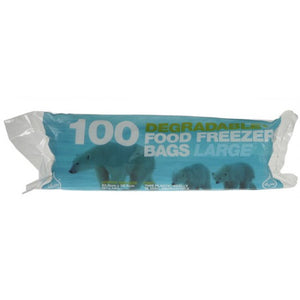 Degradable Food Freezer Bags Large