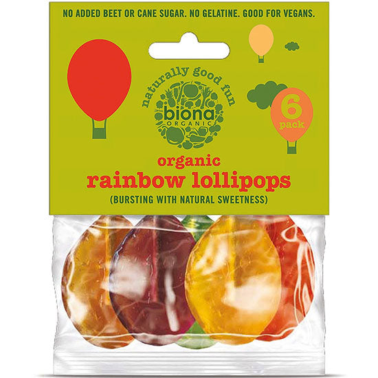 Organic Fruit Lollies Sugar free