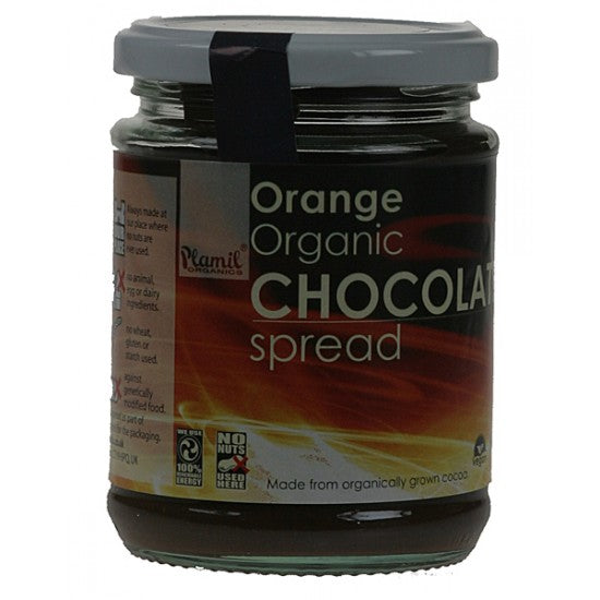 Chocolate Spread Orange Organic