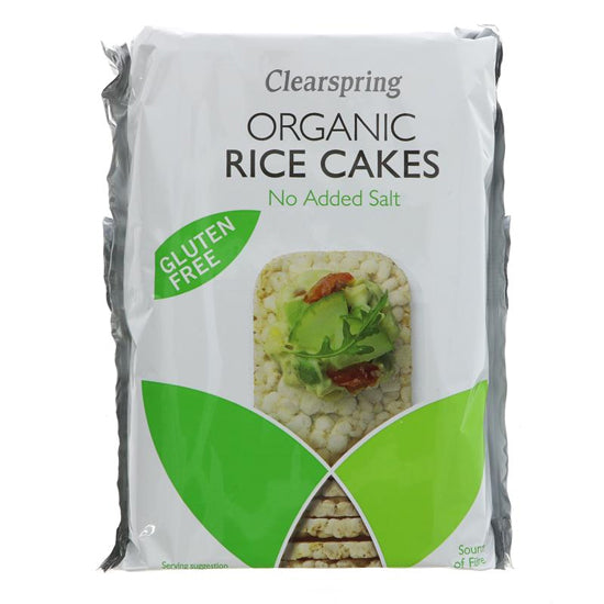 Slim Rice Cakes Plain no salt Organic