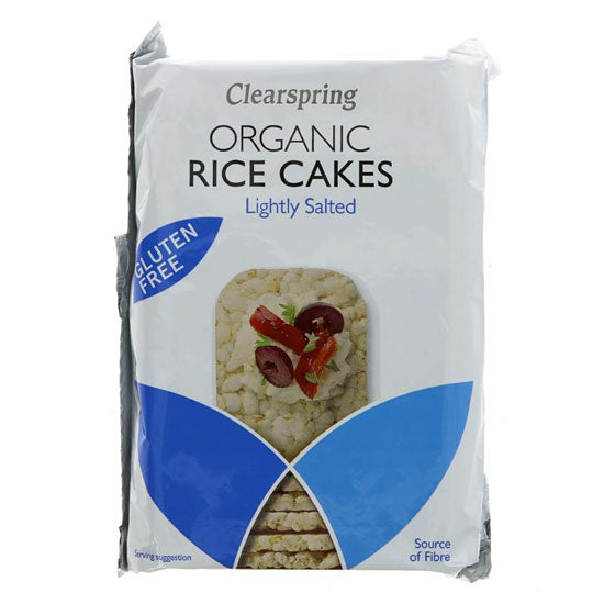 Slim Rice Cakes Salted Organic