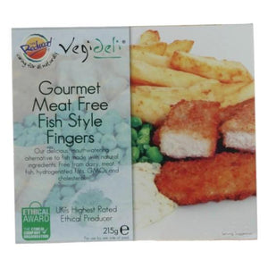 Fish Style Fingers Breaded