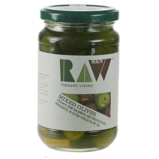 Mixed Green & Kalamata Olives Organic