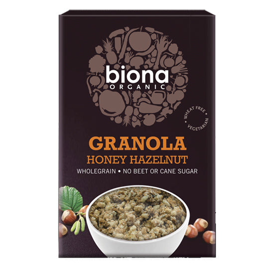 Honey & Hazel Crunch Granola Organic
