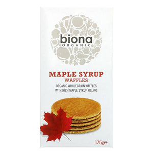 Maple Syrup Waffles Organic