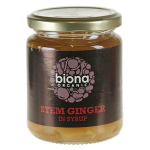 Stem Ginger in Syrup Organic