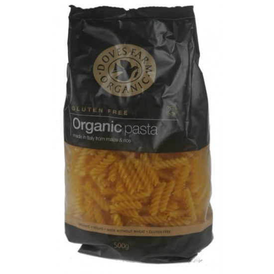 Gluten Free Rice & Maize twists pasta Organic