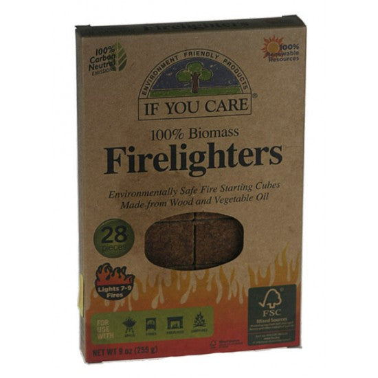 Firelighters 100% biomass