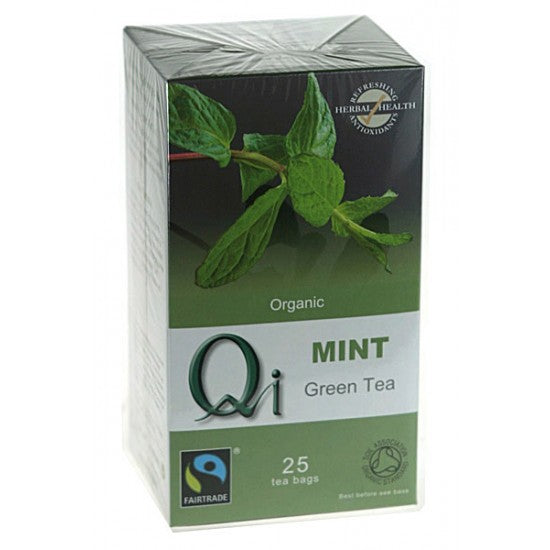 Green Tea with mint Organic