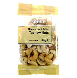 Cashews roasted & lightly salted