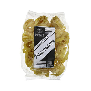 White Pappardelle (Large Nests)  Organic