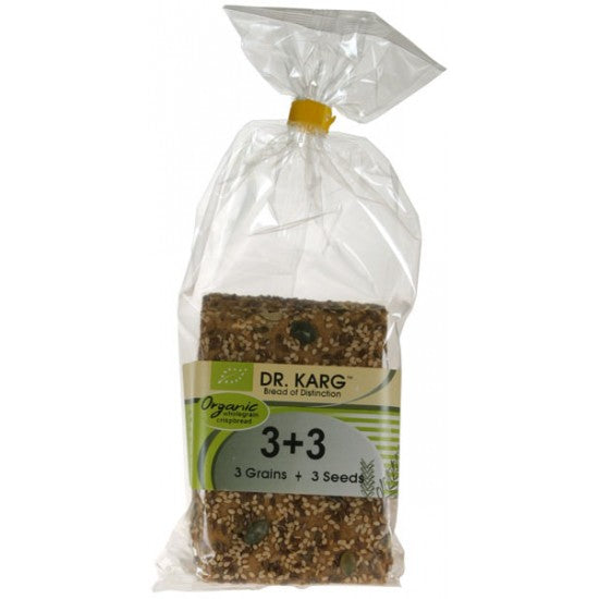 3 Grains + 3 Seeds Crispbreads Organic