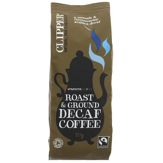 Arabica Decaffeinated Ground Coffee Organic