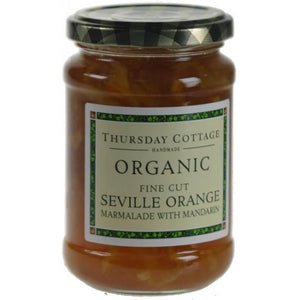 Orange Fine cut Marmalade with Mandarin Organic