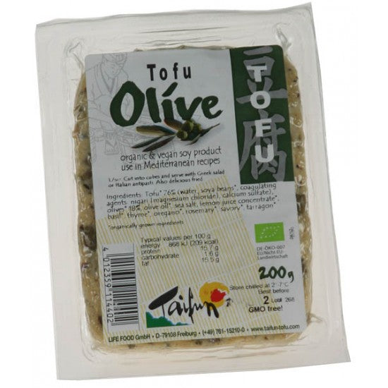 Tofu with Olives Organic