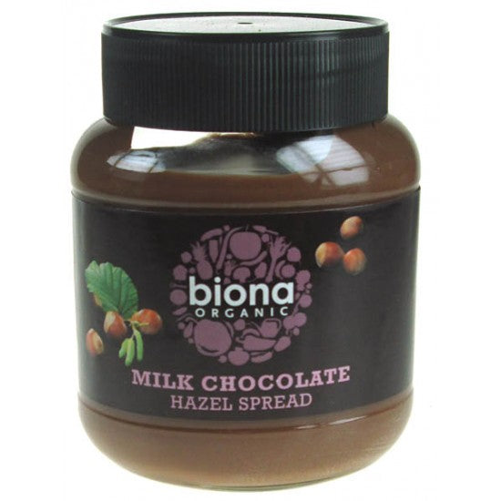 Milk Chocolate & Hazel nut spread Organic