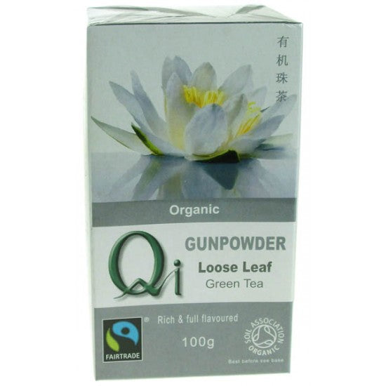 Green Tea Gunpowder loose Organic