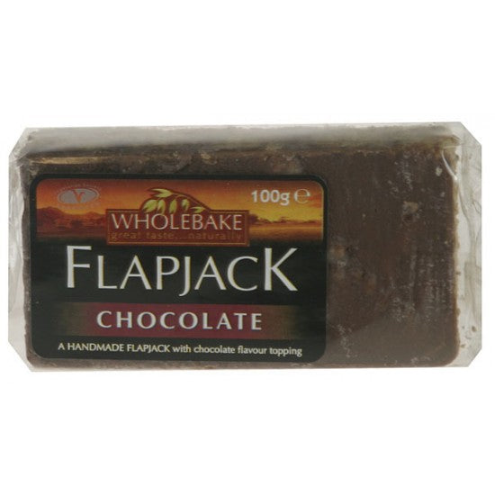 Dark Chocolate & Ginger Flapjack