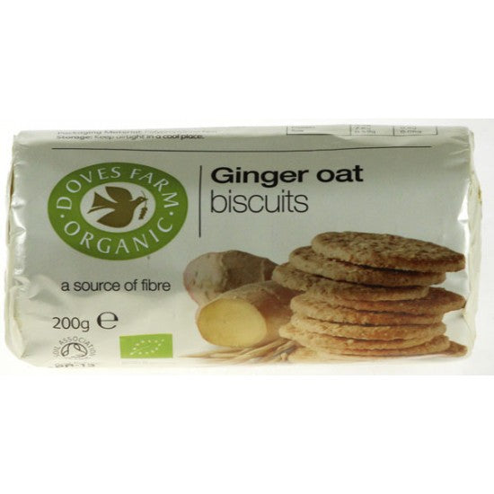 Ginger Oat Cookies Organic