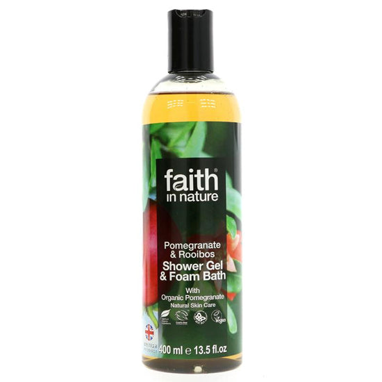 Pomegranate & Rooibos Shower Gel & Foam Bath
