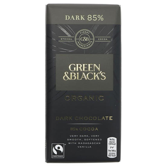 Dark (85%) Chocolate Bar Organic