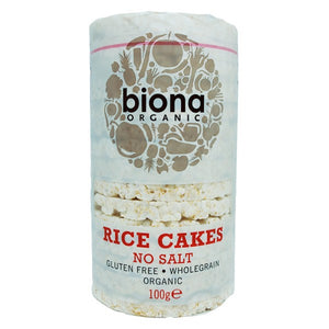 Rice Cakes No Salt  Organic