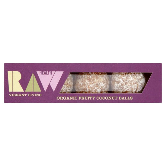 Fruity Coconut Raw Energy Balls Organic