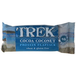 cocoa coconut protein flapjack
