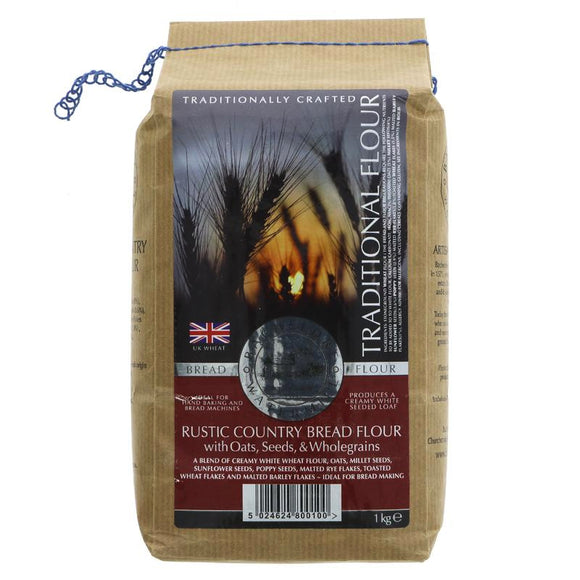 Strong Rustic Bread Flour Organic