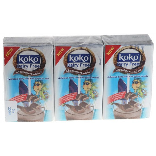 Coconut Milk Drink with Chocolate