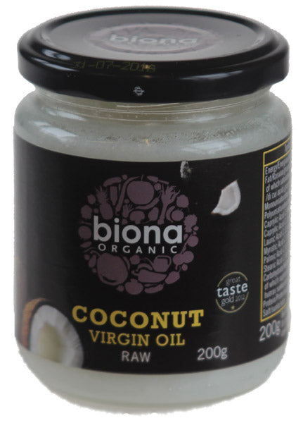Coconut Oil Virgin raw Organic