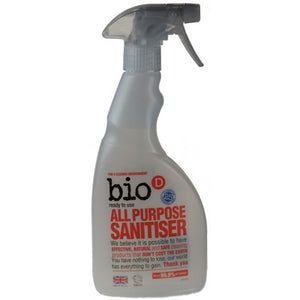All purpose sanitiser spray