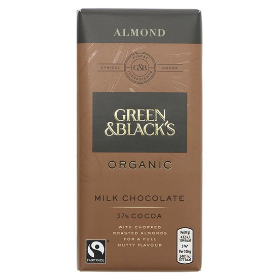 Milk Chocolate Almond Organic