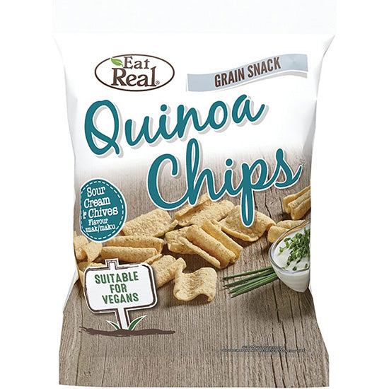 Sour Cream & Chives Quinoa Chips