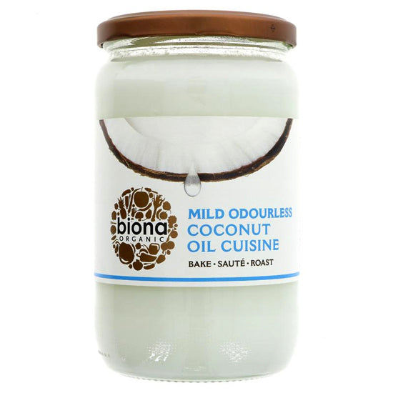 Coconut Oil Mild odourless Organic
