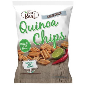 Quinoa Chips Chilli & Lime