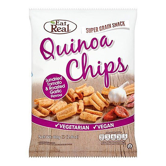 Quinoa Chips Tomato & Garlic