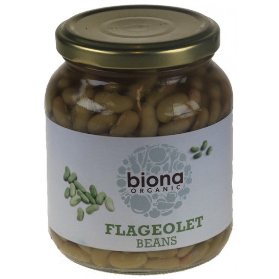 Flageolet Beans in jars Organic