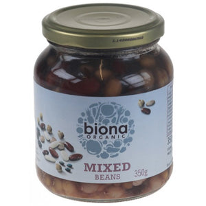 Mixed Beans in jars Organic