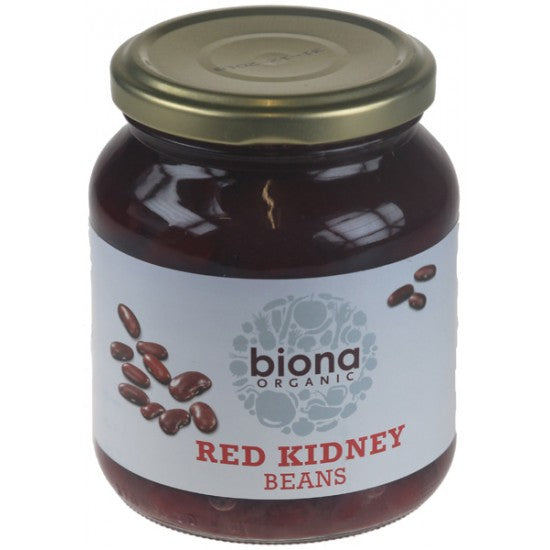 Red Kidney Beans in jars Organic