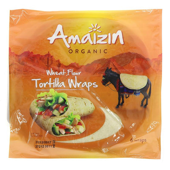 Soft Tortilla Wraps (6 wraps) Organic
